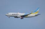 SKYLINEさんが、羽田空港で撮影したAIR DO 737-781の航空フォト(写真)