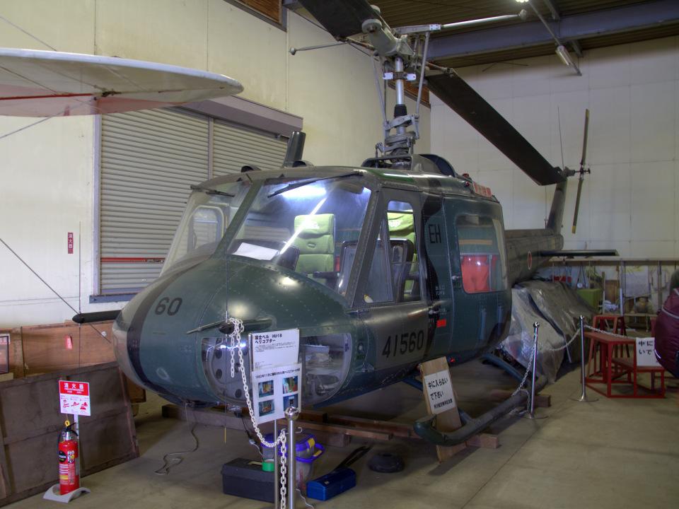 Mame @ TYOさんの陸上自衛隊 Fuji UH-1B (41560) 航空フォト