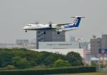 mojioさんが、伊丹空港で撮影したANAウイングス DHC-8-402Q Dash 8の航空フォト(飛行機 写真・画像)