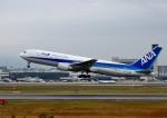 mojioさんが、伊丹空港で撮影した全日空 767-381/ERの航空フォト(飛行機 写真・画像)