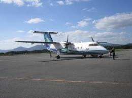 White_Maneさんが、五島福江空港で撮影したオリエンタルエアブリッジ DHC-8-201Q Dash 8の航空フォト(飛行機 写真・画像)