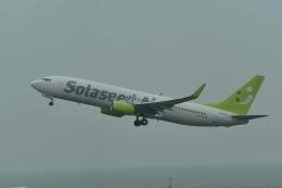 biscayneさんが、神戸空港で撮影したソラシド エア 737-86Nの航空フォト(飛行機 写真・画像)