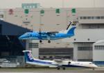 mojioさんが、伊丹空港で撮影した天草エアライン DHC-8-103Q Dash 8の航空フォト(飛行機 写真・画像)