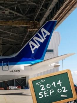 GE90777-300ERさんが、羽田空港で撮影した全日空 787-9の航空フォト(飛行機 写真・画像)