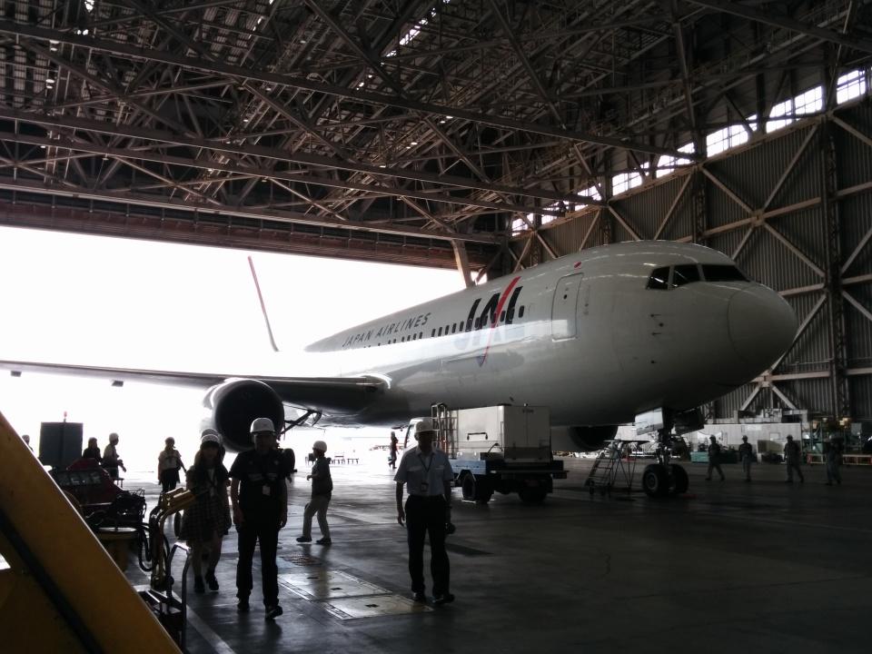 GE90777-300ERさんの日本航空 Boeing 767-300 (JA651J) 航空フォト