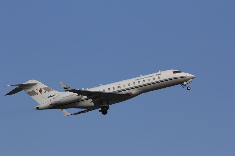 MIL26Tさんの国土交通省 航空局 Bombardier BD-700 Global Express/5000/6000 (JA006G) 航空フォト