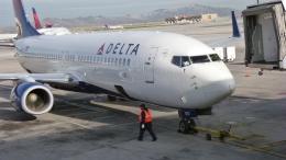 北枝 輝造さんが、ソルトレークシティ国際空港で撮影したデルタ航空 737-832の航空フォト(飛行機 写真・画像)