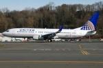 あちゃそぺさんが、ボーイングフィールドで撮影したユナイテッド航空 737-824の航空フォト(写真)