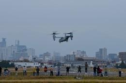 wookeyさんが、霞目駐屯地で撮影したアメリカ海兵隊 MV-22Bの航空フォト(飛行機 写真・画像)