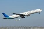 HND Spotter Rei U.さんが、羽田空港で撮影したガルーダ・インドネシア航空 777-3U3/ERの航空フォト(写真)