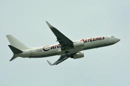 ktaroさんが、マイアミ国際空港で撮影したカリビアン航空 737-8Q8の航空フォト(飛行機 写真・画像)