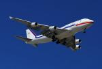 JESTARさんが、ブリスベン空港で撮影した大韓民国空軍 747-4B5の航空フォト(写真)