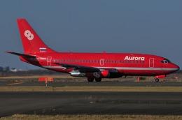 larchさんが、新千歳空港で撮影したオーロラ 737-2J8/Advの航空フォト(飛行機 写真・画像)
