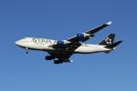 utarou on NRTさんが、成田国際空港で撮影したユナイテッド航空 747-422の航空フォト(写真)