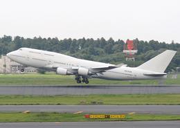 AIRFORCE ONEさんが、成田国際空港で撮影したウェルズ・ファーゴ・バンク・ノースウェスト 747-446の航空フォト(飛行機 写真・画像)