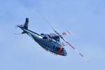 Gambardierさんが、岡南飛行場で撮影した岡山県警察 A109E Powerの航空フォト(写真)
