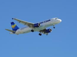 Dizzyさんが、ファロ空港で撮影したトーマスクック・エアラインズ・べルギー A320-214の航空フォト(飛行機 写真・画像)