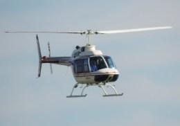 tsukatakuさんが、殿下海水浴場で撮影したアカギヘリコプター 206B-3 JetRanger IIIの航空フォト(飛行機 写真・画像)