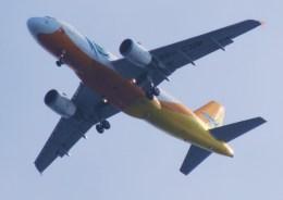 tsukatakuさんが、成田国際空港で撮影したセブパシフィック航空 A319-112の航空フォト(飛行機 写真・画像)