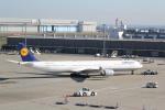 ANA744Foreverさんが、羽田空港で撮影したルフトハンザドイツ航空 A340-642の航空フォト(飛行機 写真・画像)