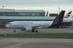 xxxxxzさんが、ロンドン・ヒースロー空港で撮影したブリュッセル航空 A319-112の航空フォト(飛行機 写真・画像)