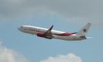 TKOさんが、ロンドン・ヒースロー空港で撮影したアルジェリア航空 737-8D6の航空フォト(写真)