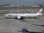もみじんさんが、羽田空港で撮影した日本航空 777-346/ERの航空フォト(写真)