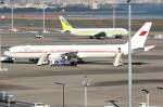 アイスコーヒーさんが、羽田空港で撮影したバーレーン王室航空 767-4FS/ERの航空フォト(飛行機 写真・画像)