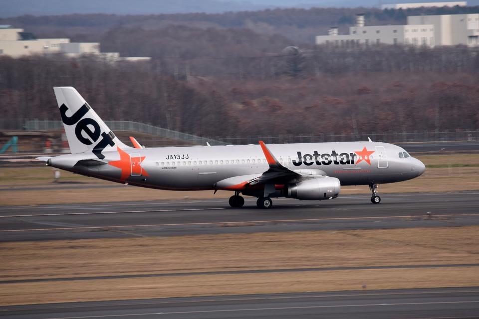 tsubasa0624さんのジェットスター・ジャパン Airbus A320 (JA13JJ) 航空フォト