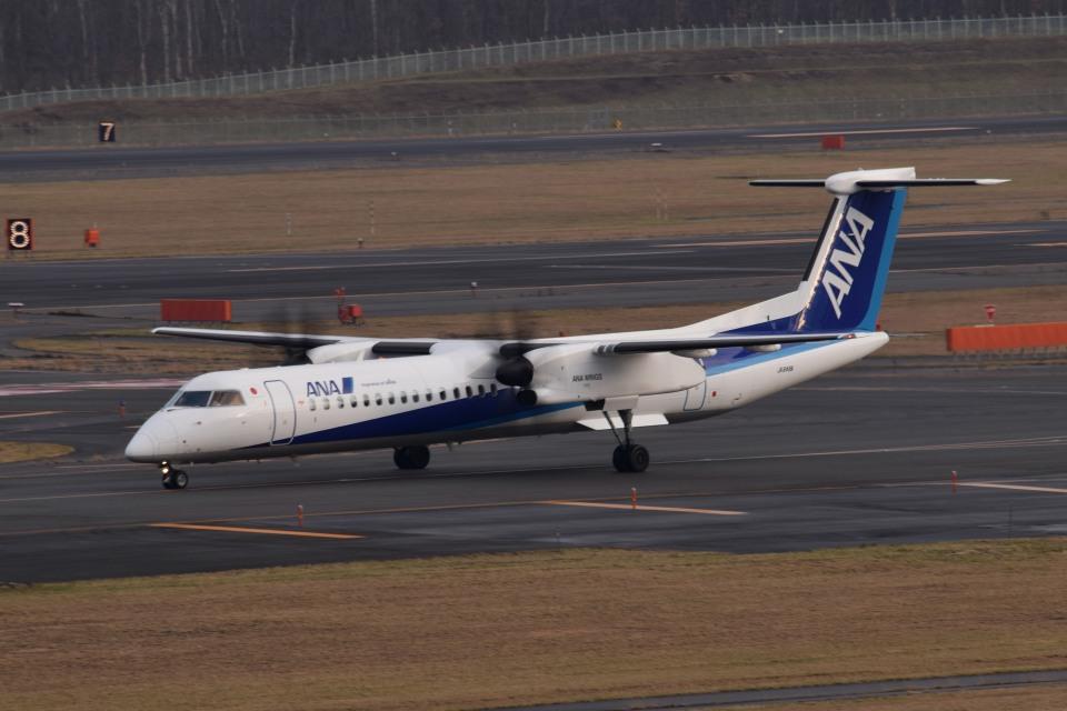 tsubasa0624さんのANAウイングス Bombardier DHC-8-400 (JA848A) 航空フォト