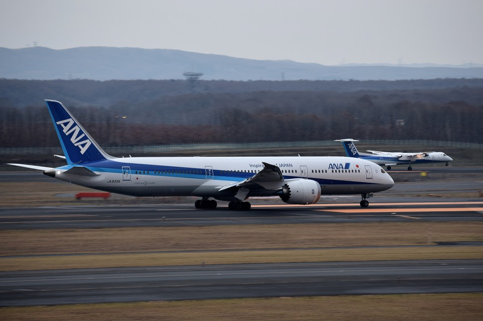 tsubasa0624さんの全日空 Boeing 787-9 (JA833A) 航空フォト