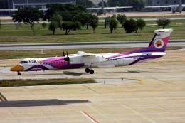 KTX8929さんが、ドンムアン空港で撮影したノックエア DHC-8-402Q Dash 8の航空フォト(飛行機 写真・画像)