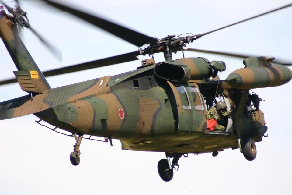 アイスコーヒーさんの陸上自衛隊 Mitsubishi UH-60JA (43127) 航空フォト