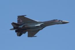 TAOTAOさんが、珠海金湾空港で撮影したロシア空軍 Sukhoi Su-35/37の航空フォト(飛行機 写真・画像)