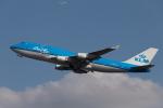 くるくもるさんが、成田国際空港で撮影したKLMオランダ航空 747-406Mの航空フォト(写真)