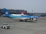 いーたんさんが、成田国際空港で撮影したエア・タヒチ・ヌイ A340-313Xの航空フォト(写真)