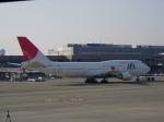 いーたんさんが、成田国際空港で撮影した日本航空 747-446の航空フォト(飛行機 写真・画像)