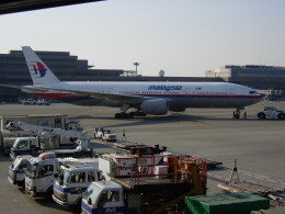 いーたんさんが、成田国際空港で撮影したマレーシア航空 777-2H6/ERの航空フォト(飛行機 写真・画像)