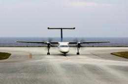kei604さんが、北大東空港で撮影した琉球エアーコミューター DHC-8-103 Dash 8の航空フォト(飛行機 写真・画像)