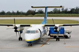kei604さんが、南大東空港で撮影した琉球エアーコミューター DHC-8-103 Dash 8の航空フォト(飛行機 写真・画像)