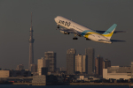 くるくもるさんが、羽田空港で撮影したAIR DO 767-381の航空フォト(写真)