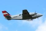 Kuuさんが、鹿児島空港で撮影した崇城大学 58 Baronの航空フォト(飛行機 写真・画像)
