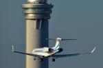 パンダさんが、羽田空港で撮影したPEAK ENTERPRISES LLC G-Vの航空フォト(写真)