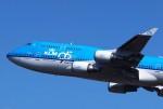 そばぬこさんが、成田国際空港で撮影したKLMオランダ航空 747-406Mの航空フォト(写真)