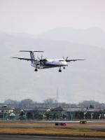 なまくら はげるさんが、松山空港で撮影した全日空 DHC-8-402Q Dash 8の航空フォト(写真)