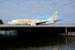 Tomo-Papaさんが、アムステルダム・スキポール国際空港で撮影したトランサヴィア 737-8K2の航空フォト(写真)