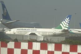 cassiopeiaさんが、スカルノハッタ国際空港で撮影したノーフォーク・エア 737-229/Advの航空フォト(飛行機 写真・画像)