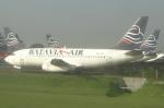 cassiopeiaさんが、スカルノハッタ国際空港で撮影したバタビア航空 737-281/Advの航空フォト(写真)