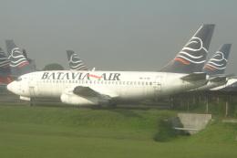 cassiopeiaさんが、スカルノハッタ国際空港で撮影したバタビア航空 737-281/Advの航空フォト(飛行機 写真・画像)