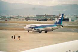 Love Airbus350さんが、福岡空港で撮影したエアーニッポン 737-281/Advの航空フォト(飛行機 写真・画像)